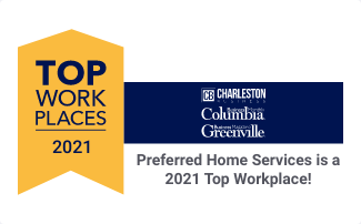 Preferred Home Services is a Top Workplace SC 2021